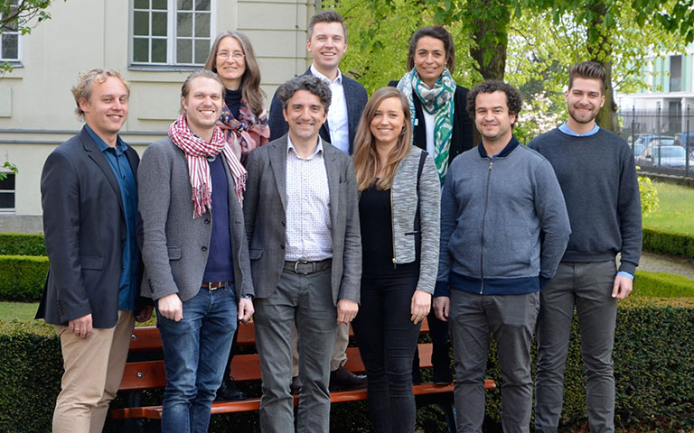 Team picture of the Entrepreneurship and Innovation / Say Institute, Berlin Academic chair, ESCP