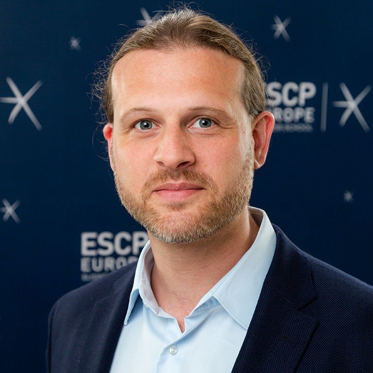 Prof. Dr. Florian Lüdeke-Freund, Chair for Coporate Sustainability, Berlin Campus, ESCP