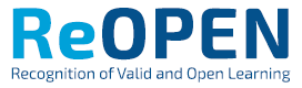 Logo of ReOpen project, Campus Berlin, ESCP