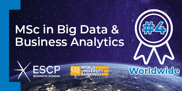 QS * Word University Rankings - MSc in Big Data & Business Analytics #4 Worldwide