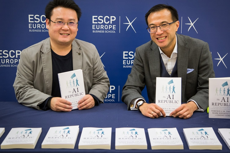 Danny Goh and Terence Tse, authors of 'The AI Republic: Building the Nexus Between Humans and Intelligent Automation'