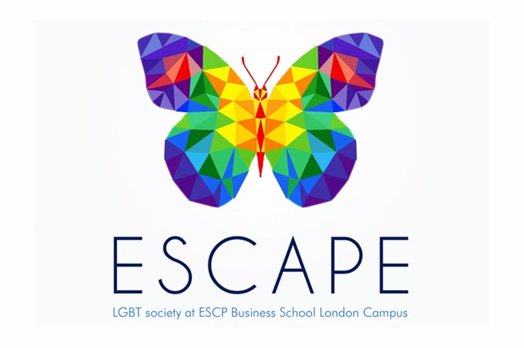 ESCP Business School #LGBT+ student society ESCAPE