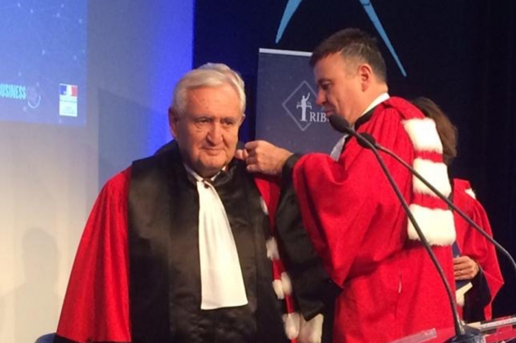 ESCP awards the title of Doctor honoris causa to Mr Jean-Pierre Raffarin
