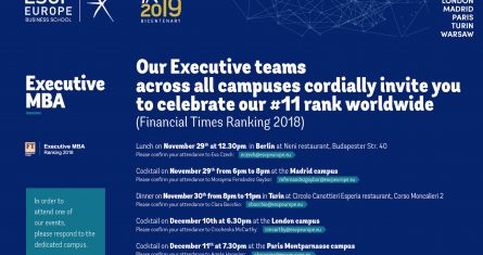 Executive MBA FT Ranking 2018 Celebration - Madrid
