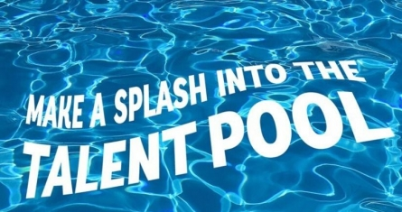 Make a Splash into the Talent Pool! Logo