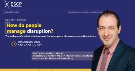 Webinar: How Do People Manage Disruption?