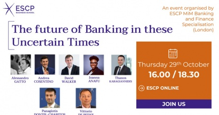 ESCP Students & Speakers from Leading Financial Institutions Debate the Future of Banking