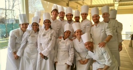 ESCP Master in International Food and Beverage Management students