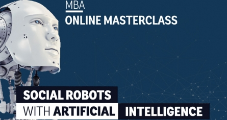 MBA Online Masterclass: Social Robots with Artificial Intelligence | Madrid Campus | ESCP