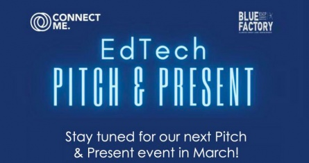 January 2021 - first Pitch & Present event from ESCP student association connect me.