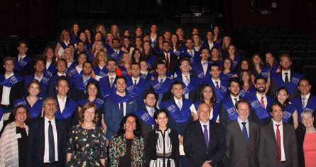 2018 Graduation Ceremony in Madrid - ESCP