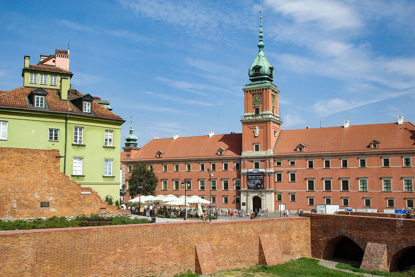 Warsaw key place visited, Poland, ESCP