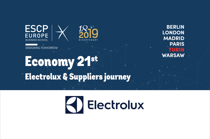 Electrolux & Suppliers Journey