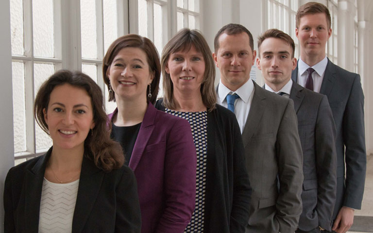 Team picture of the Organisation Human Resource chair, Berlin Academic Chair, ESCP Europe