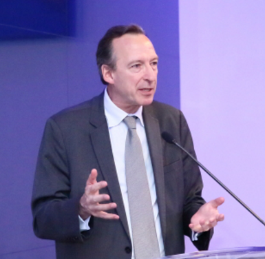 Jean-Luc Bérard, Executive Vice President for Human Resources at Safran