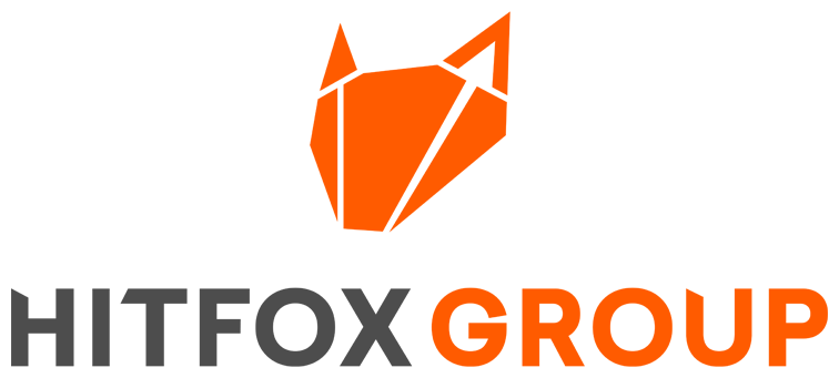 Logo Hitfox, Partner of the chair Strategic Management and Decision Making, ESCP, Berlin campus