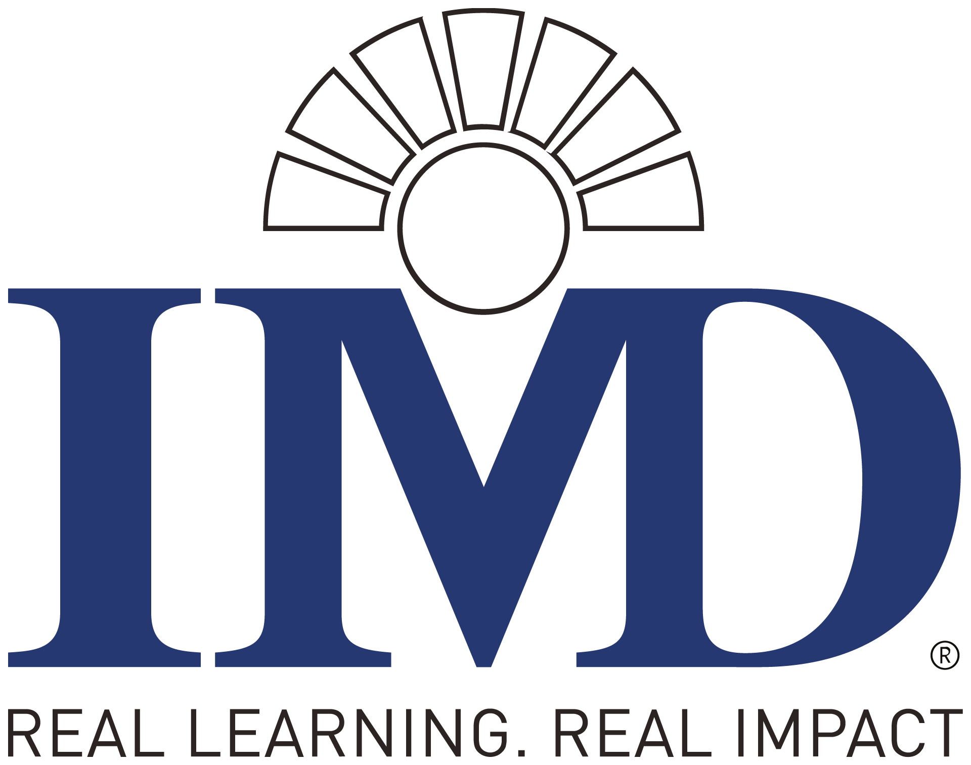 Logo IMD Lausanne, Switzerland , Partner of the chair Strategic Management and Decision Making, ESCP, Berlin campus