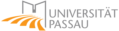 Logo University of Passau, Germany, Partner of the chair Strategic Management and Decision Making, ESCP, Berlin campus