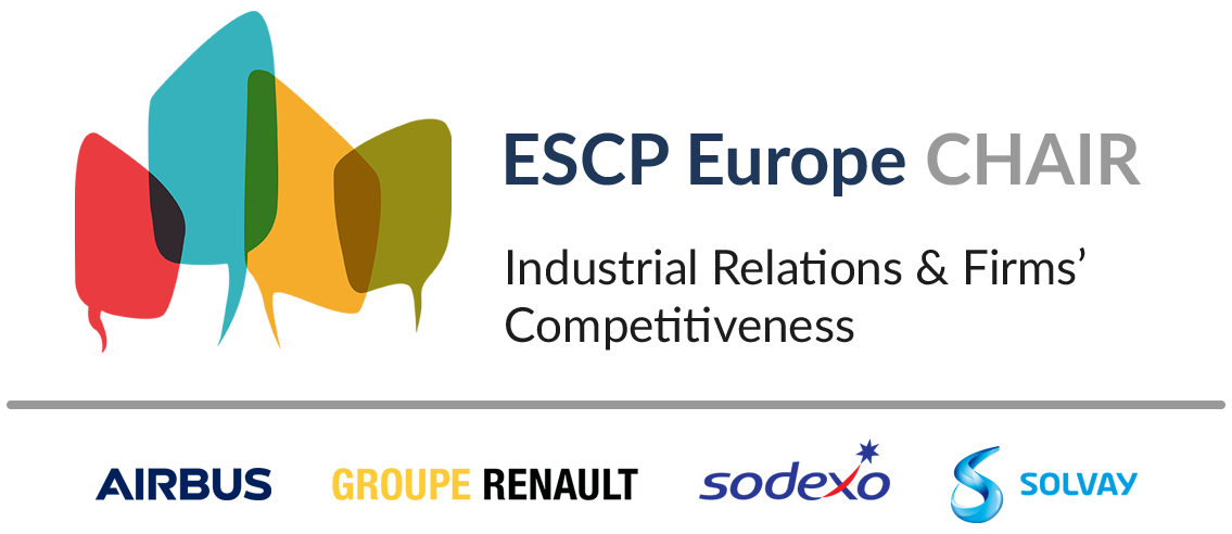 Logo of Industrial Relations & Firms' Competitiveness Chair, ESCP