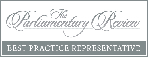 The Parliamentary Revieux - Best Practice Representative Badge