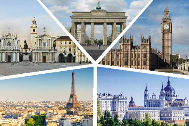 Berlin, London, Madrid, Paris, Turin - ESCP Europe