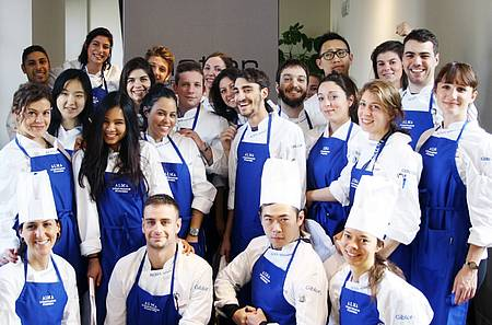 Class of 2016 at the ALMA International School of Italian Cuisine