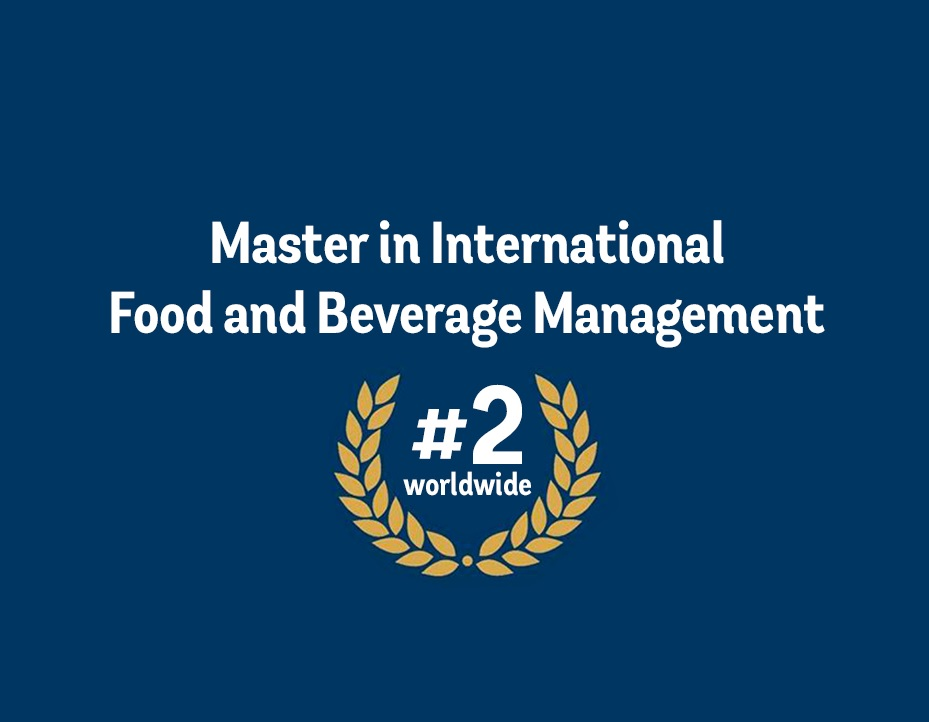 2019 Eduniversal Ranking of the Best Masters in Food and Beverage Management
