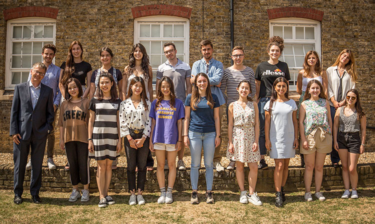 Creative London Summer School - Class 2018 - ESCP Europe