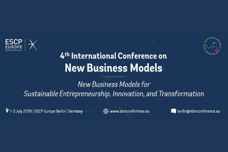 4th International Conference on New Business Models | ESCP Europe