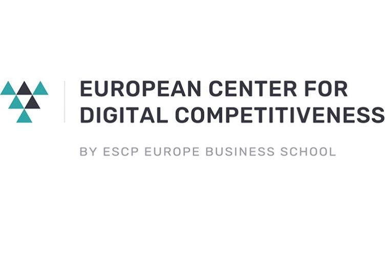 Logo European Center for digital Competitiveness