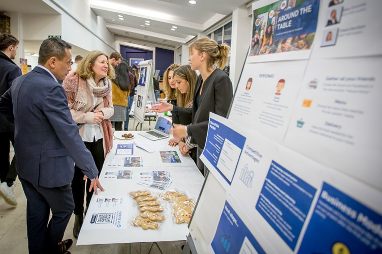 Innovation & Collaboration are the winners at ESCP London Campus' Entrepreneurship Festival!
