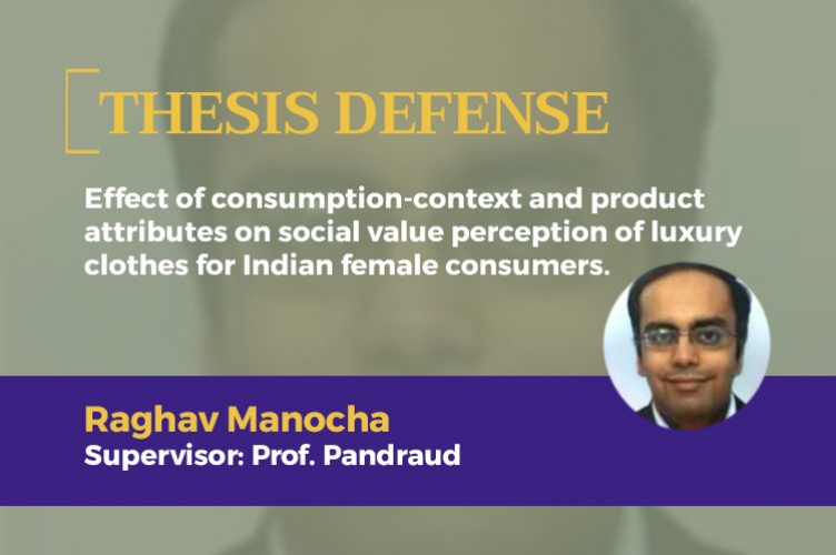 Effect of consumption-context and product attributes on social value perception of luxury clothes for Indian female consumers.