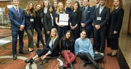 ESCP Europe National Model United Nations (NMUN) students