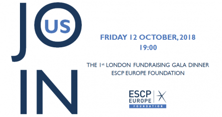 ESCP Europe Foundation: London Fundraising Gala Dinner