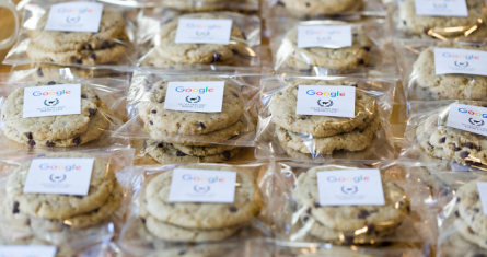"Google's ""perfect"" cookies © Google"