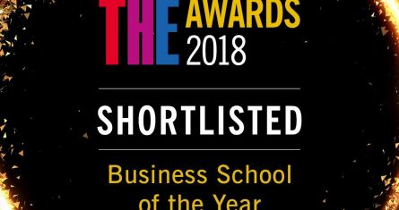 ESCP Europe Business School shortlisted for UK business School of the year by THE
