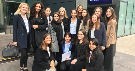 The first edition of the ESCP Europe Women In Finance Investment Banking Insight Week