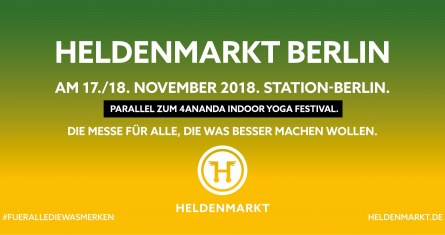 Meet us in Berlin at the Heldenmarkt fair!