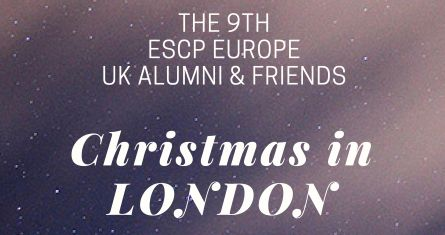 ESCP Europe Alumni Association: Christmas in London 2018