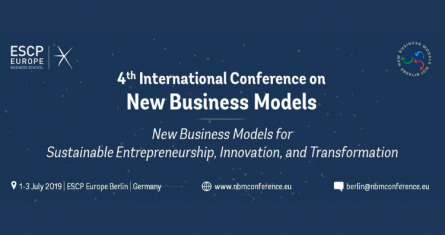 4th International Conference on New Business Models