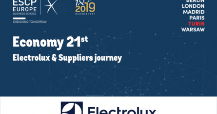 ECONOMY 21ST conference - Electrolux & Suppliers journey