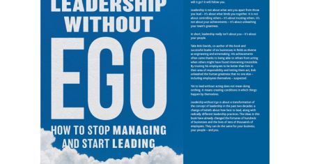 Leadership without ego cover