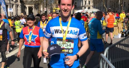 ESCP Bachelor in Management (BSc) student runs the 2019 London Landmarks Half Marathon