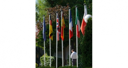 Picture of European flags. Why do we need European universities?