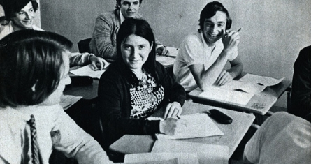 Joelle Le Vourch in class 1971, ESCP Europe