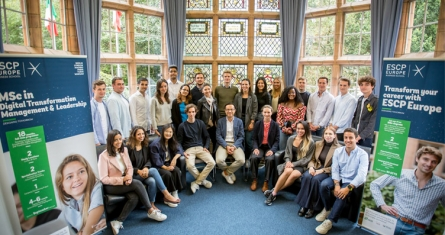 ESCP MSc in Digital Transformation Management & Leadership Class of 2020