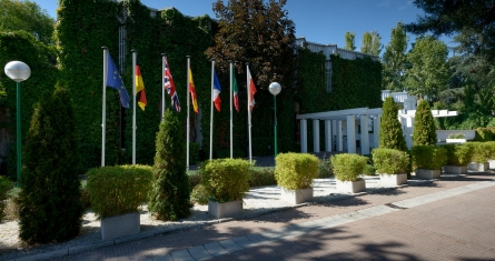 Madrid Campus front vue, ESCP Europe