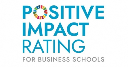 Positive Impact Rating for Business Schools Logo