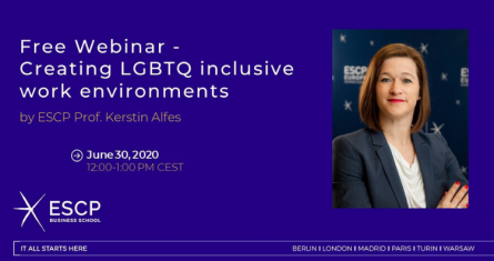 Webinar Invite with picture of Prof. Kerstin Alfes